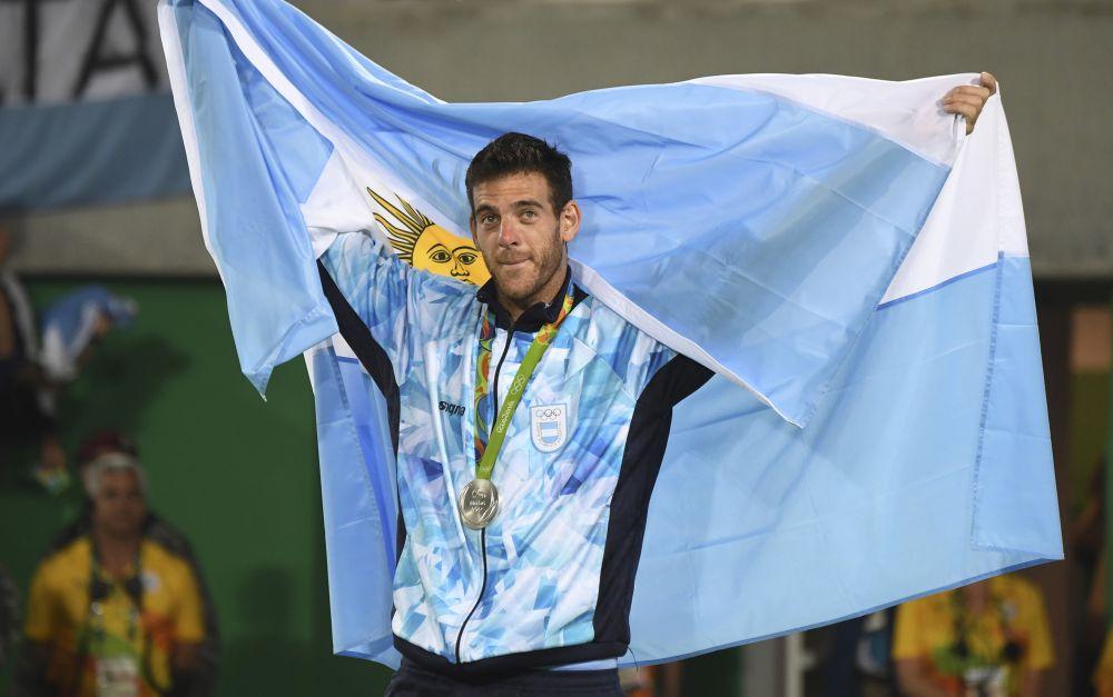 Del Potro, Medalla de Plata en las Olimpíadas