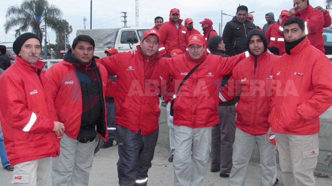 Repudio Generalizado por el despido de Trabajadores en Salta Refrescos - Coca Cola