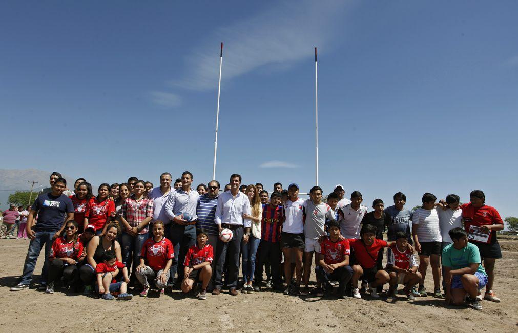 Inauguraron la primera cancha de rugby del Valle de Lerma