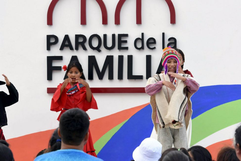 Miles de vecinos de la zona sudeste ya disfrutan del Parque de la Familia
