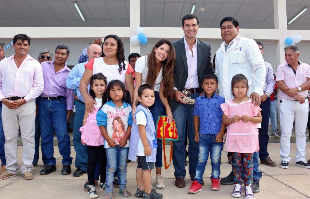 Desde Misión La Paz, el gobernador Urtubey lanzó oficialmente el ciclo lectivo 2017