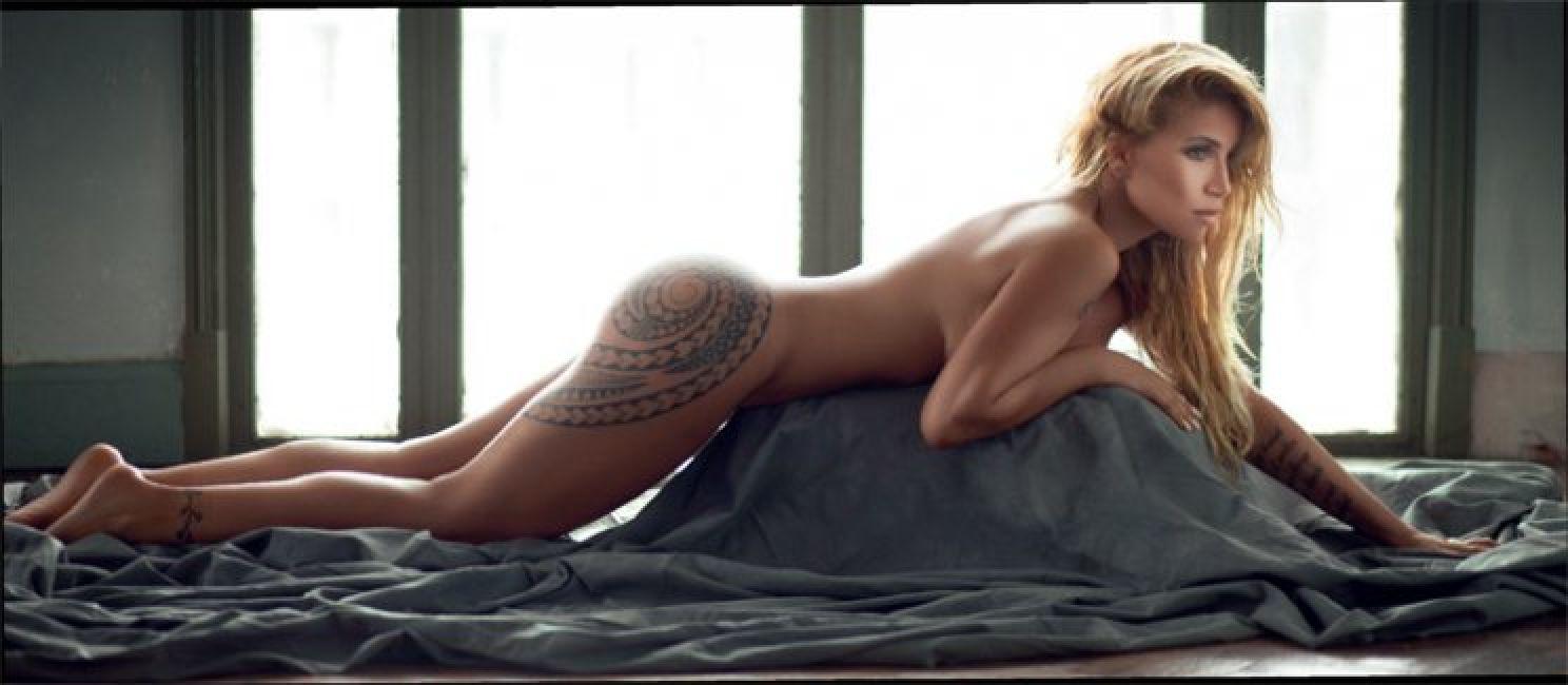 Flor Peña, desnudo total y confesión en Revista Gente