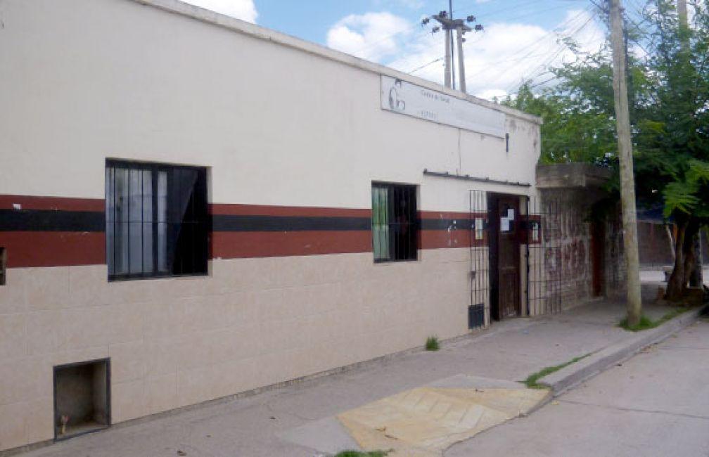 Desinfección en el Centro de Salud del barrio 9 de Julio