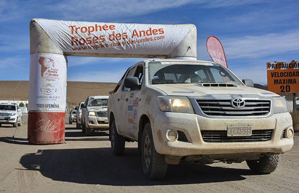 Por cuarto año, Salta será sede del rally Trophée Roses des Andes