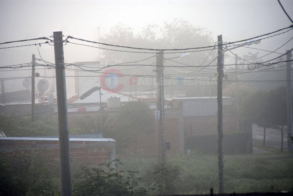 Espesa Neblina en la zona sur de la Ciudad de Salta