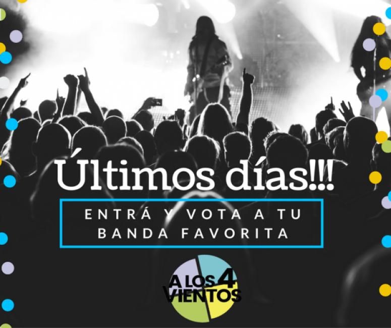 """El 1 de septiembre cierra la votación del concurso  """"A los 4 vientos"""""""