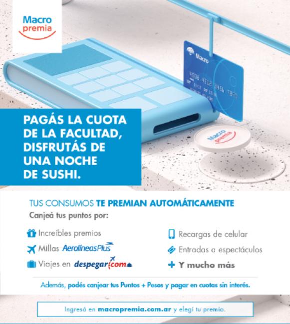 Banco Macro brinda nuevos y mejores beneficios en su programa Macro Premia.