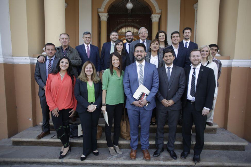 La Cámara de Diputados de Salta recibió a jóvenes líderes de los Estados Unidos