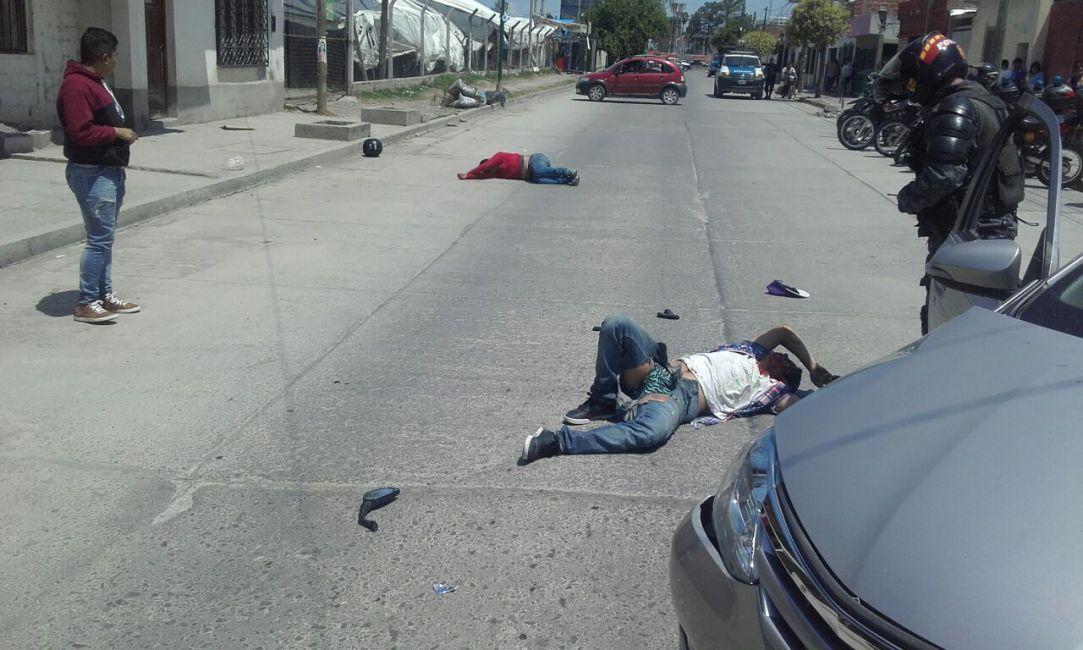Cámaras de Seguridad: así actúan los motochorros en Salta