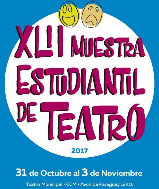 Comienza la 42° edición de la Muestra Estudiantil de Teatro