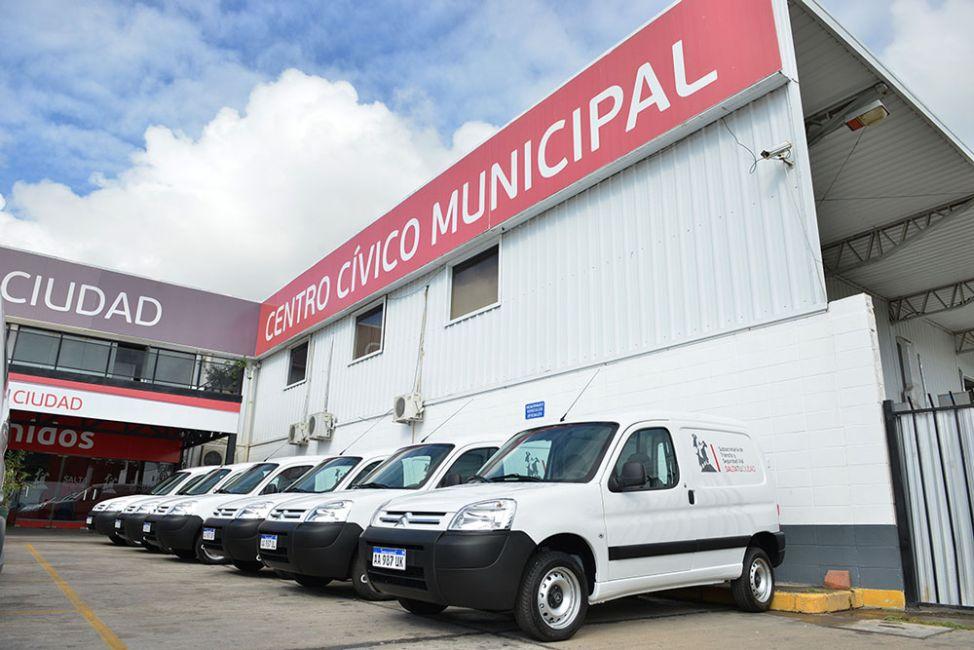 La Municipalidad continúa con la renovación de su flota de vehículos