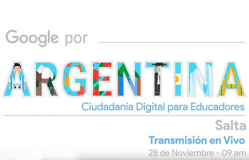 Se realizará hoy en Salta el Encuentro Ciudadanía Digital para Educadores