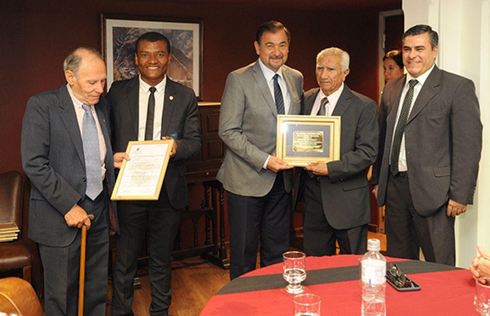El Concejo Deliberante capitalino reconoció a la Vicegobernación