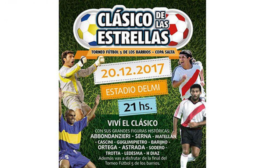 Salta recibe al Clásico de las Estrellas: entrada libre y gratuita