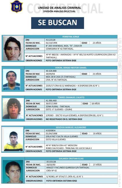 La Policía recapturó a 10 presos fugados de la Comisaría de Tartagal
