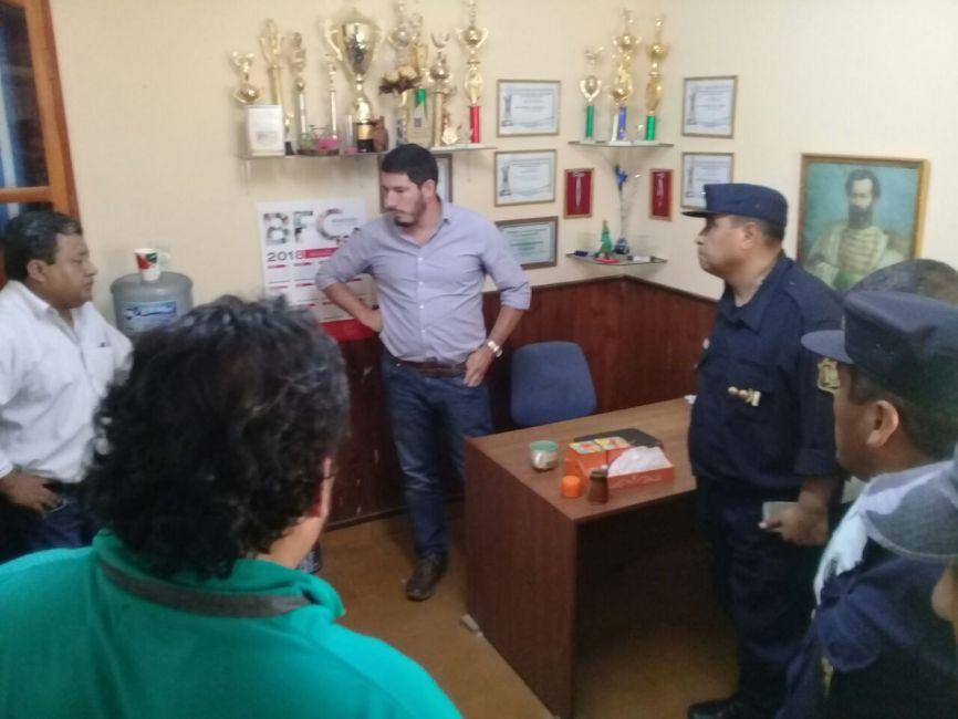 El Ministro de Seguridad supervisa el megaoperativo por la fuga de presos