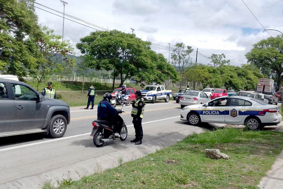 Seguridad Vial controló más de 9.500 vehículos durante el fin de semana