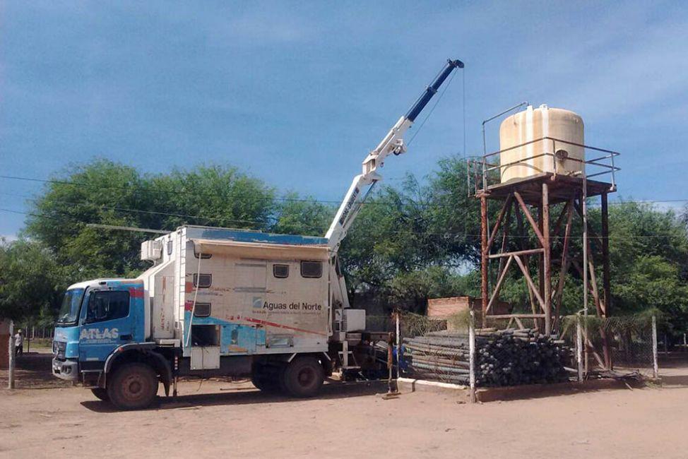 Aguas del Norte brindó asistencia técnica en Santa Victoria Este