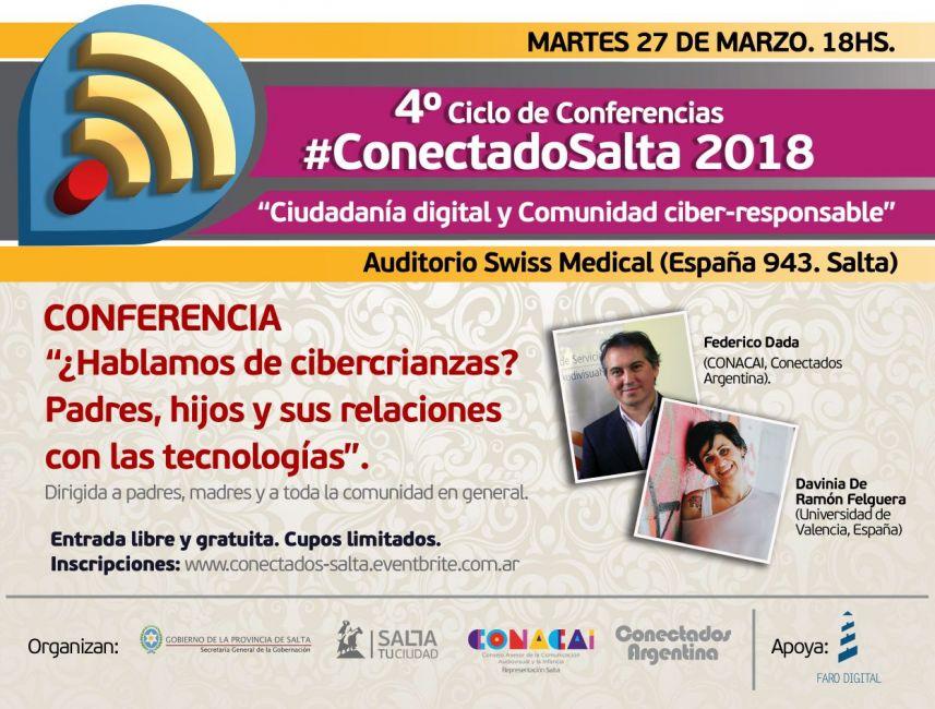 Comienza el ciclo #ConectadoSalta