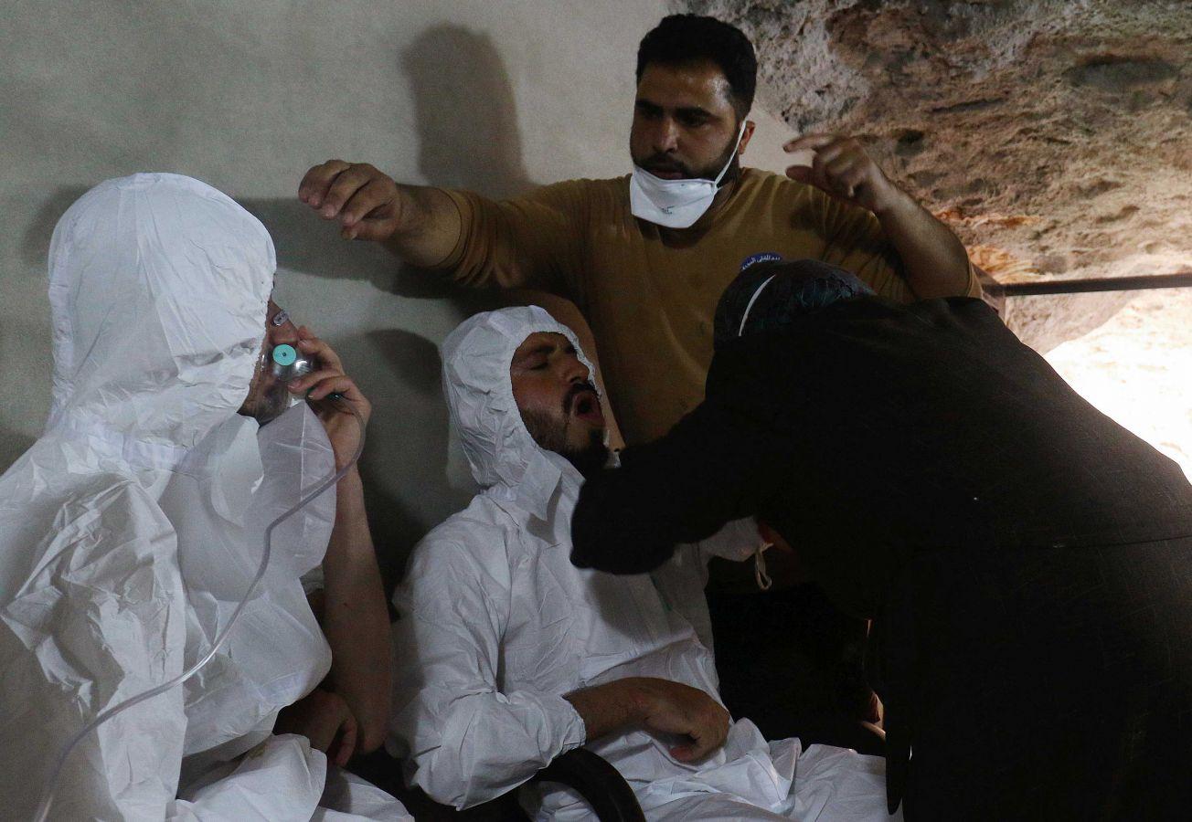 VIDEO CON IMÁGENES SENSIBLES: EL SALVAJE ATAQUE QUÍMICO EN SIRIA