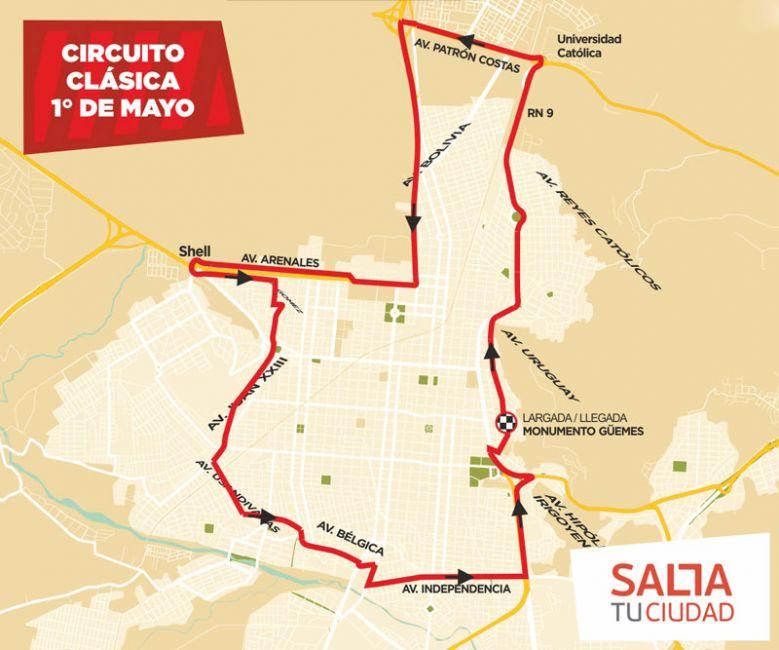 Todo listo: amplio operativo de seguridad por la Clásica 1° de Mayo