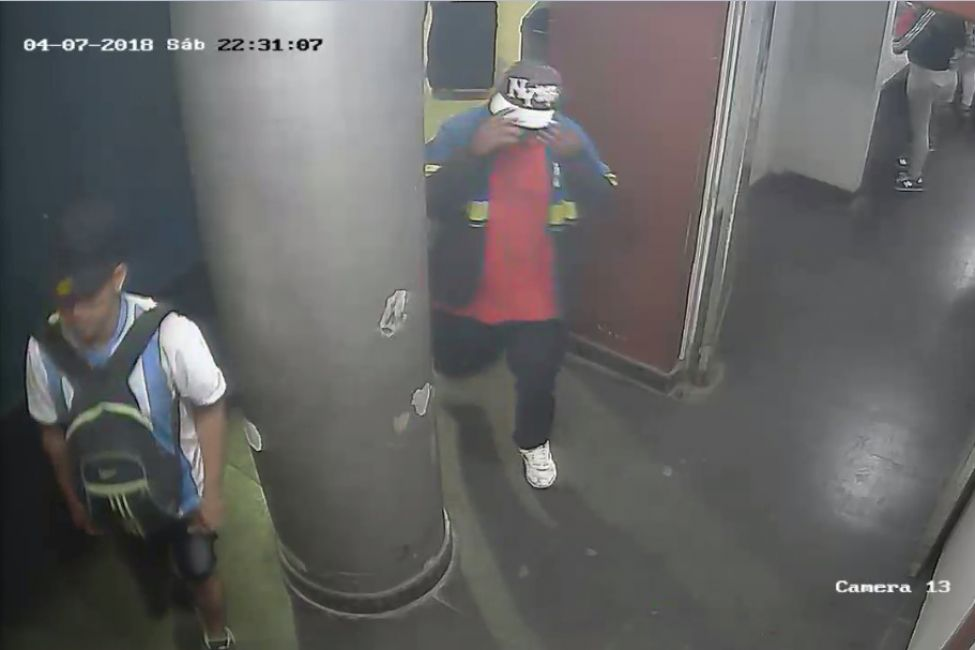 Surgen las imágenes de Lucas Correa con el principal sospechoso