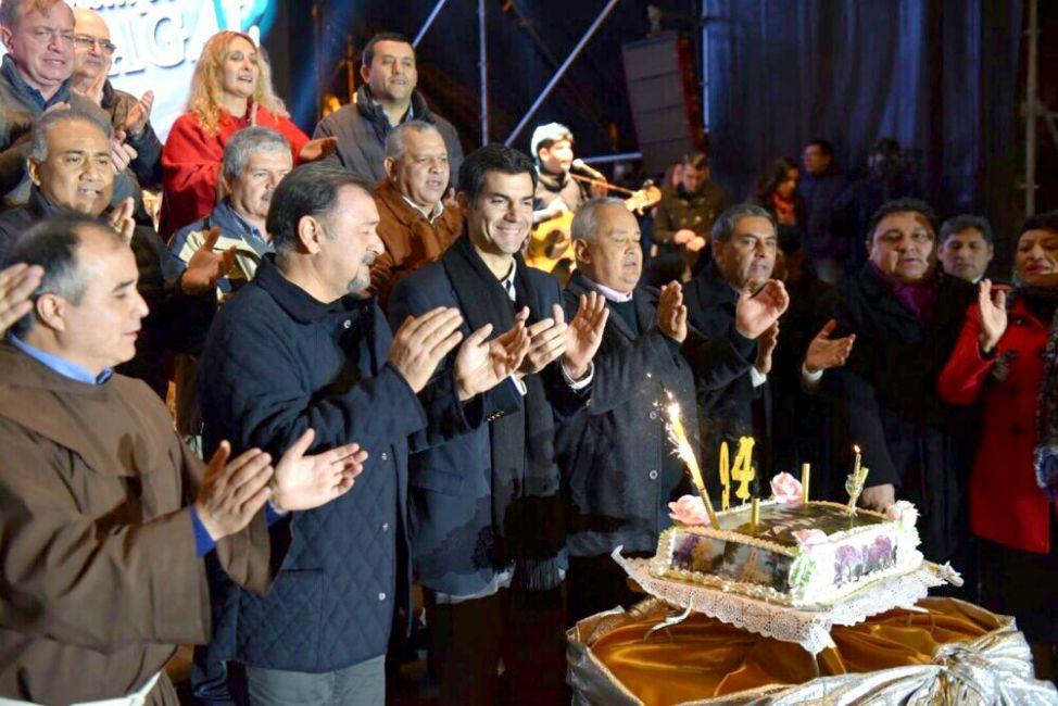 Tartagal de Cumple: festejó del 94° aniversario de la ciudad