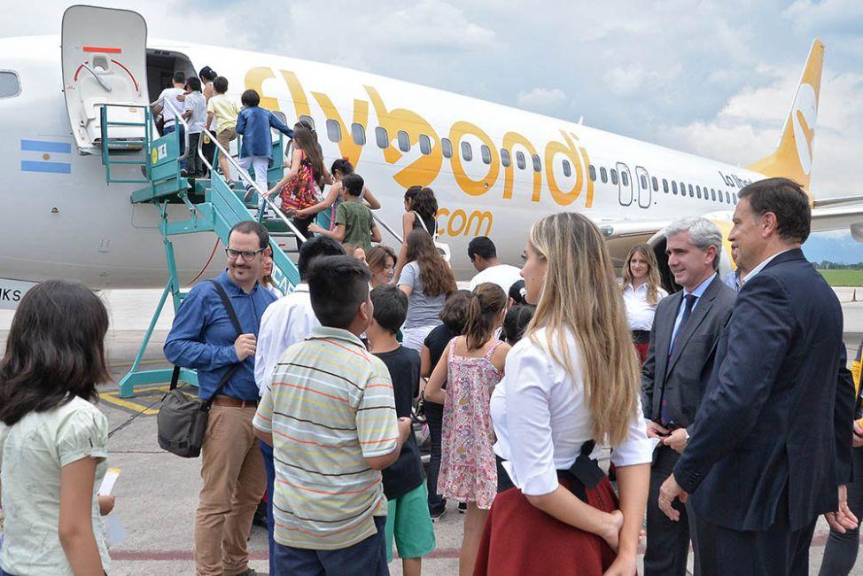 Más rutas aéreas: mañana será el vuelo inaugural de la empresa Flybondi