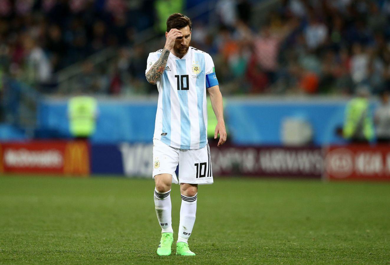 Enteráte qué le pasa a Lio Messi