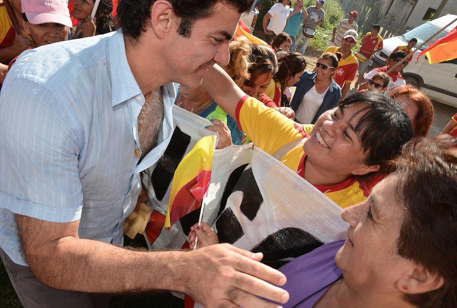 Contundente respaldo político y social de Aguaray a Urtubey