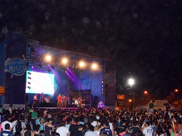 """Más de 10 mil personas, en la final de """"Maravillosa Música"""" junto a la Bersuit."""