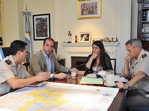 La Policía de Salta recibirá nuevo equipamiento y se adhirió a la base de datos de Interpol.