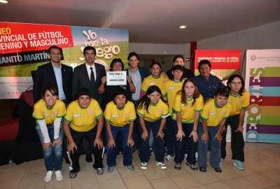 Urtubey lanzó el Campeonato Provincial de Fútbol de los Barrios