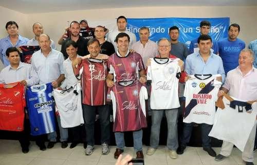 El fútbol salteño agradeció a Urtubey su permanente apoyo al deporte