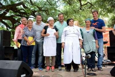 Ramona Rueda fue coronada ganadora del Concurso de la Humita.
