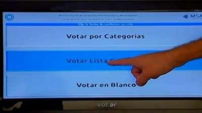 Salta vota en las PASO 2015.
