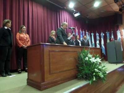 Asumieron las nuevas autoridades del Consejo de la Magistratura.