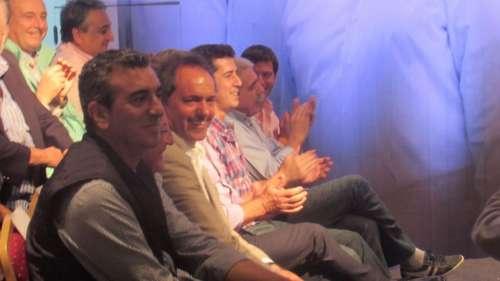 Scioli, Anibal, Florencio, Fellner y Ulibarri en Salta con Urtubey