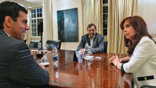 La Presidente recibió a Urtubey en la quinta de Olivos tras su triunfo en las primarias de Salta.