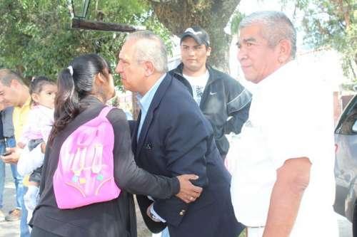Romero con Kerubin Sosa