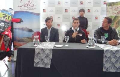 El piloto salteño Kevin Benavides anunció que correrá el Dakar 2016.