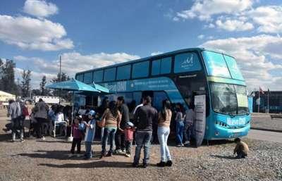 El móvil de documentación rápida estará esta semana en Villa Asunción.