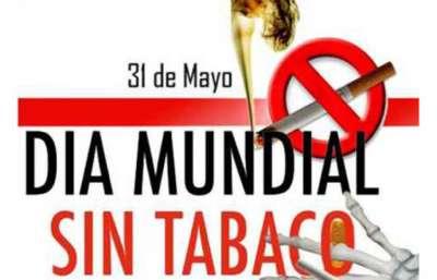 Por el Día Mundial sin Tabaco se realizarán actividades preventivas y de promoción.