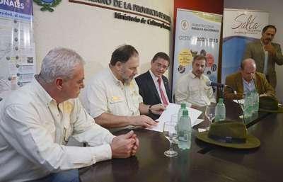 Se ejecutarán obras en el Parque Nacional Baritú y en la Reserva El Nogalar de Los Toldos.