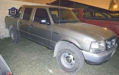 Desbaratan banda que sustraían vehículos en otras provincias.