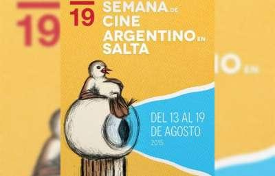 La 19º Semana de Cine Argentino en Salta se realizará del 13 al 19 de agosto.
