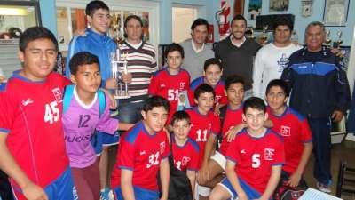 Capital ganó en hándbol y es el primer campeón de los Juegos Evita.