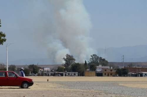 Incendios de pastizales: las zonas sur y oeste son las más proclives a sufrirlos