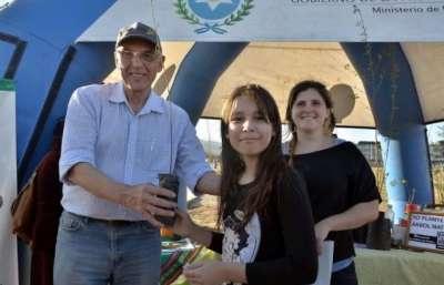 Este sábado, Día del Árbol, se realizó la actividad central de la campaña en el Parque del Bicentenario.