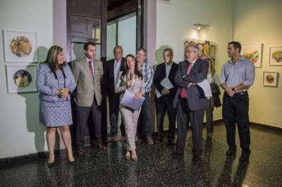 """Se inauguró la muestra """"Circule! entre Irse y Quedarse"""" en la Legislatura."""